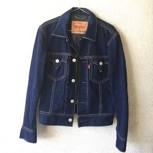 Iconic Type I men's Levi's denim trucker jacket